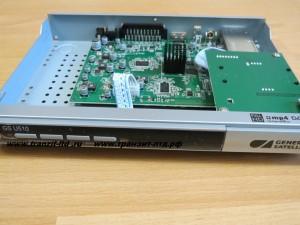 GS U510 видео обзор , главная плата, передняя панель