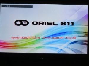 oriel 811 обзор , заставка