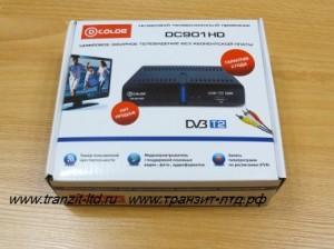 dcolor dc901hd видео обзор , упаковка общий вид