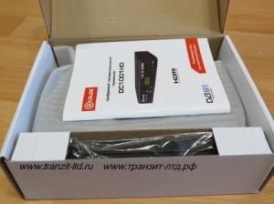 Dcolor dc 1001 HD - упаковка , общий вид .