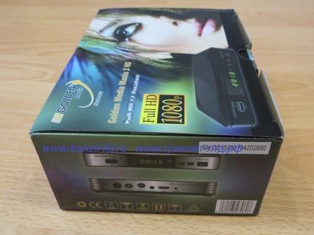 GM Mania3HD-упаковка боковая сторона