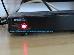 GS B210 - индикатор приемника , красный