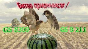 Битва приемников - Что лучше работает Gs 8300 или Gs B 211