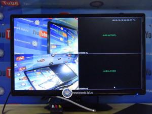 5116 LM, наглядная разница двух видеокамер аналоговой и аналоговой высокой четкости.