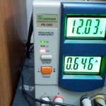 Потребляемая мощность ресивера GS B210, проверка.
